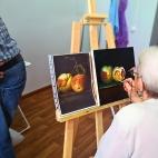 """29.07.2017 / Мастер-класс """"Натюрморты маслом"""" в Творческой студии"""