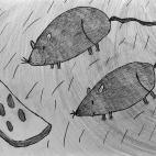 """21.11.2017 / """"Мышки"""" в Творческой студии. Автор работы: Комиссарова Екатерина (7 лет)"""