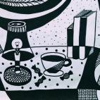 """26.11.2017 / """"Графический натюрморт"""" в Творческой студии. Автор работы: Янченко Анастасия"""