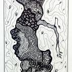 """21.11.2017 / """"Графический натюрморт"""". Автор работы: 05.12.2017 / """"Древо"""". Автор работы: Кузьмина Марина АкоповнаКузьмина Марина Акоповна"""