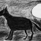 """16.12.2017 / """"Волк"""" в Творческой студии. Автор работы: Токаюк Дорин (9 лет)"""