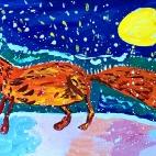 """16.12.2017 / """"Лиса"""" в Творческой студии. Автор работы: Токаюк Дорин (9 лет)"""