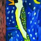 """21.01.2018 / """"Дятел"""" в Творческой студии. Автор работы: Комиссарова Екатерина (7 лет)"""