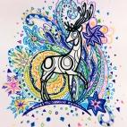 """04.02.2018 / """"Doodle"""" в Творческой студии. Автор работы: Евстигнеева Анна Германовна"""