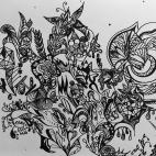 """21.02.2018 / """"Doodle"""" в Творческой студии. Автор работы: Фёдорова Екатерина Юрьевна"""