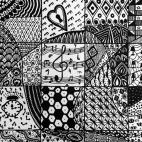 """08.04.2018 / """"Zentangle"""" в Творческой студии. Автор работы: Уткина Юлия Михайловна"""