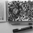 """2018, апрель / """"Doodle"""". Автор работы: Терешкова Светлана Анатольевна"""