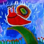 """21.05.2018 / """"Улитка"""" в Творческой студии. Автор работы: Васильева Анна (4,5 лет)"""