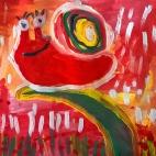 """21.05.2018 / """"Улитка"""" в Творческой студии. Автор работы: Аксёнова Амелина (4 года)"""