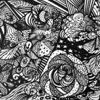 """22.05.2018 / """"Doodle"""" в Творческой студии. Автор работы: Жарова Светлана Борисовна"""