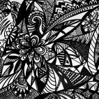 """12.09.2018 / """"Doodle"""" в Творческой студии. Автор работы: Вишнёва Юлия Сергеевна"""