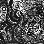 """12.09.2018 / """"Doodle"""" в Творческой студии. Автор работы: Лебедева Елена Николаевна"""