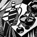 """10.10.2018 / """"Натюрморт"""" в Творческой студии. Автор работы: Жарова Светлана Борисовна"""