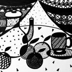 """17.10.2018 / """"Натюрморт"""" в Творческой студии. Автор работы: Вишнёва Юлия Сергеевна"""