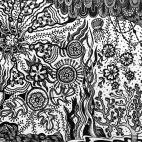 """19.10.2018 / """"Doodle"""" в Творческой студии. Автор работы: Волкова Ольга Анатольевна"""