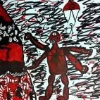 """24.12.2018 / """"Злой монстр"""" в Творческой студии. Автор работы: Клемин Лев (8 лет)"""