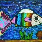 """21.01.2019 / """"Рыбка"""" в Творческой студии. Автор работы: Мулгачёва Инна (8 лет)"""
