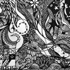 """02.02.2019 / """"Doodle"""" в Творческой студии. Автор работы: Курскова Екатерина Сергеевна"""