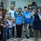 "23.10.15 / Мастер-класс ""Декупаж"" в реабилитационном центре"