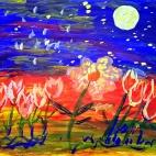"""04.06.2017 / Мастер-класс """"Цветы"""" в Библиотеке им. Лихачева"""