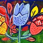 """18.06.2017 / Мастер-классы """"Цветы"""" в Библиотеке им. Лихачева"""