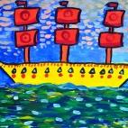 "30.07.2017 / Мастер-класс ""Корабли"" в Библиотеке им. Лихачева"