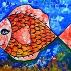 """23.07.2017 / Мастер-класс """"Рыбка"""" в Библиотеке им. Лихачева"""