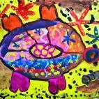 """13.08.2017 / Мастер-класс """"Черепаха"""" в Библиотеке им. Лихачева"""