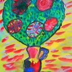 """10.09.2017 / Мастер-класс """"Цветы"""" в Библиотеке им. Лихачева"""