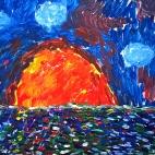 """14.09.2017 / Мастер-класс """"Море"""" в Библиотеке им. Лихачева"""