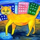 """06.08.2017 / Тема """"Коты"""" в Библиотеке им. Лихачева"""