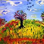 """03.09.2017 / Мастер-класс """"Осень"""" в Библиотеке им. Лихачева"""