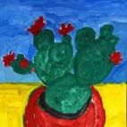 """07.12.2017 / Мастер-класс """"Опунция"""" в Библиотеке им. Лихачева"""