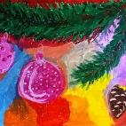 """21.12.2017 / Мастер-класс """"Новогоднее настроение"""" в Библиотеке им. Лихачева"""