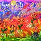 """18.01.2018 / Мастер-класс """"Спонтанное рисование"""" в Библиотеке им. Лихачева"""