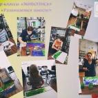 """11.06.2017 / 2 мастер-класса """"Живопись гуашью"""" в Библиотеке им. Лихачева"""