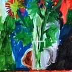 """14.09.2017 / Мастер-класс """"Цветы"""" в Библиотеке Удельнинской"""