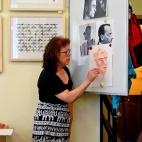 """17.07.2017 / Мастер-класс """"Портреты"""" в Библиотеке Удельнинской"""