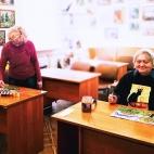 """06.07.2017 / Мастер-класс """"Деревья"""" в Библиотеке Удельнинской"""