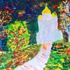 """Группа №2 / 27.09.2018 / Тема """"Золотая осень"""" в Библиотеке Удельнинской"""