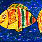 """11.08.2017 / Мастер-класс """"Рыбка"""" в Библиотеке Батенинской"""