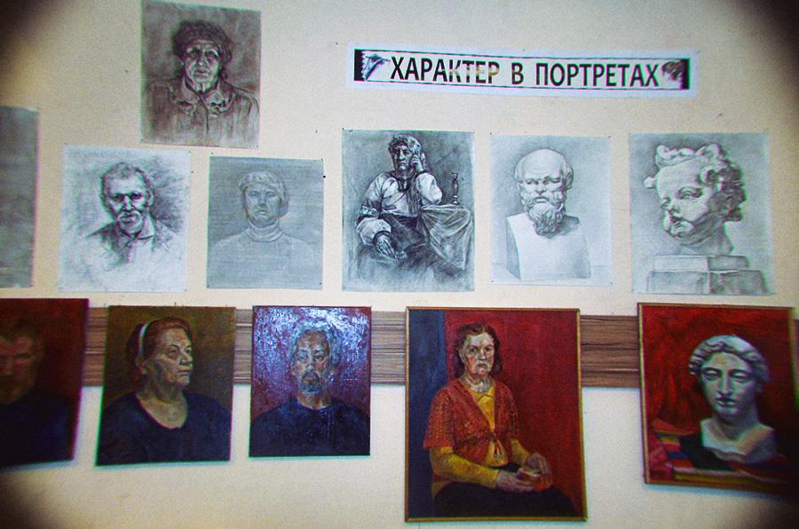 Характер в портретах, или дорогу – юным талантам