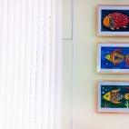 """02.09.17-02.10.17 / Выставка рисунков учащихся нашей Студии после конкурса """"Понедельник — рыбный день!"""""""