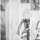 """25.11.2017 / Столярова Варвара (10 лет) рисует картину """"Ангел"""" для мероприятия """"Дважды первый"""""""